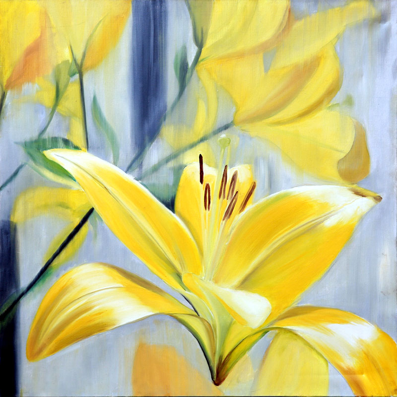 Lillies Yellow